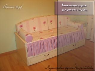 Текстильный дизайн для спальни
